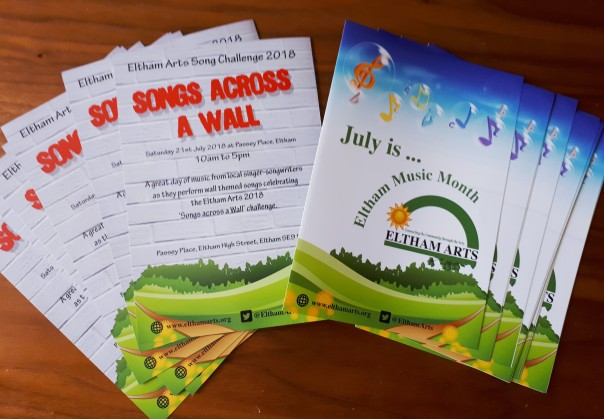 2018 July Music Month leaflets